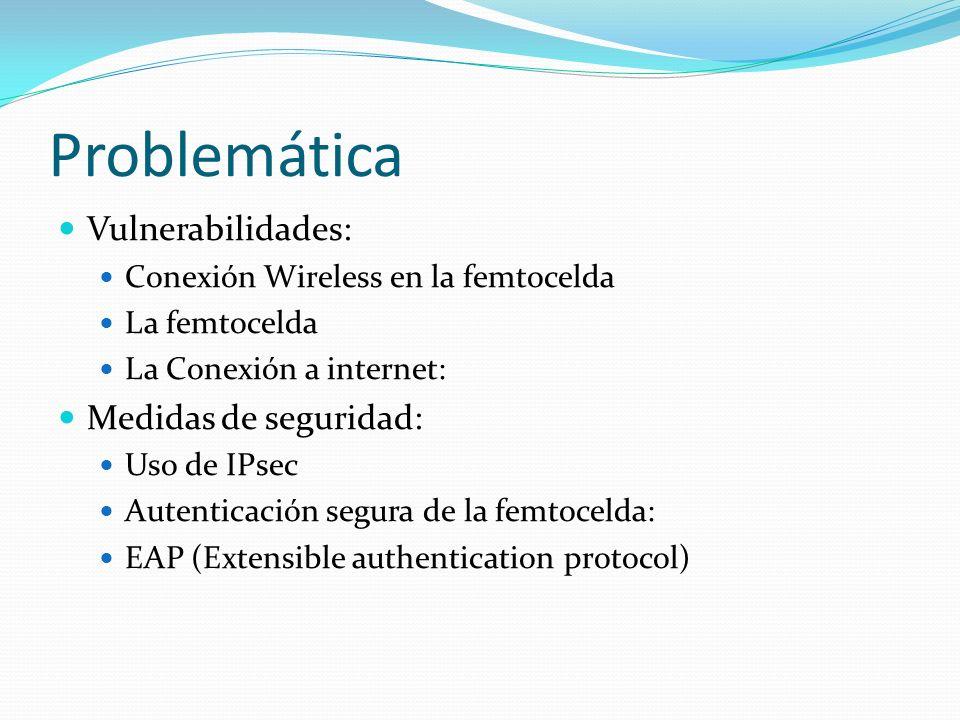 Problemática Vulnerabilidades: Medidas de seguridad:
