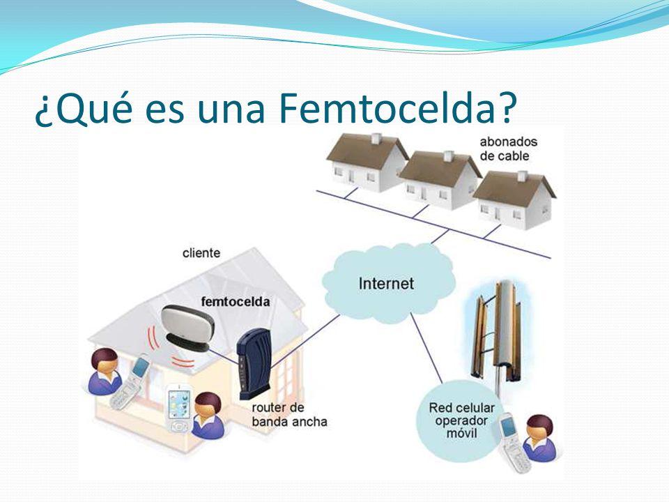¿Qué es una Femtocelda -Explicación dibujo: