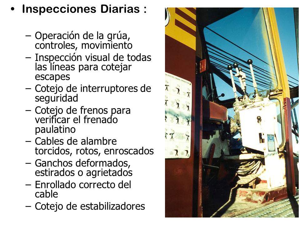 Inspecciones Diarias :