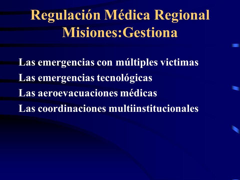 Regulación Médica Regional Misiones:Gestiona