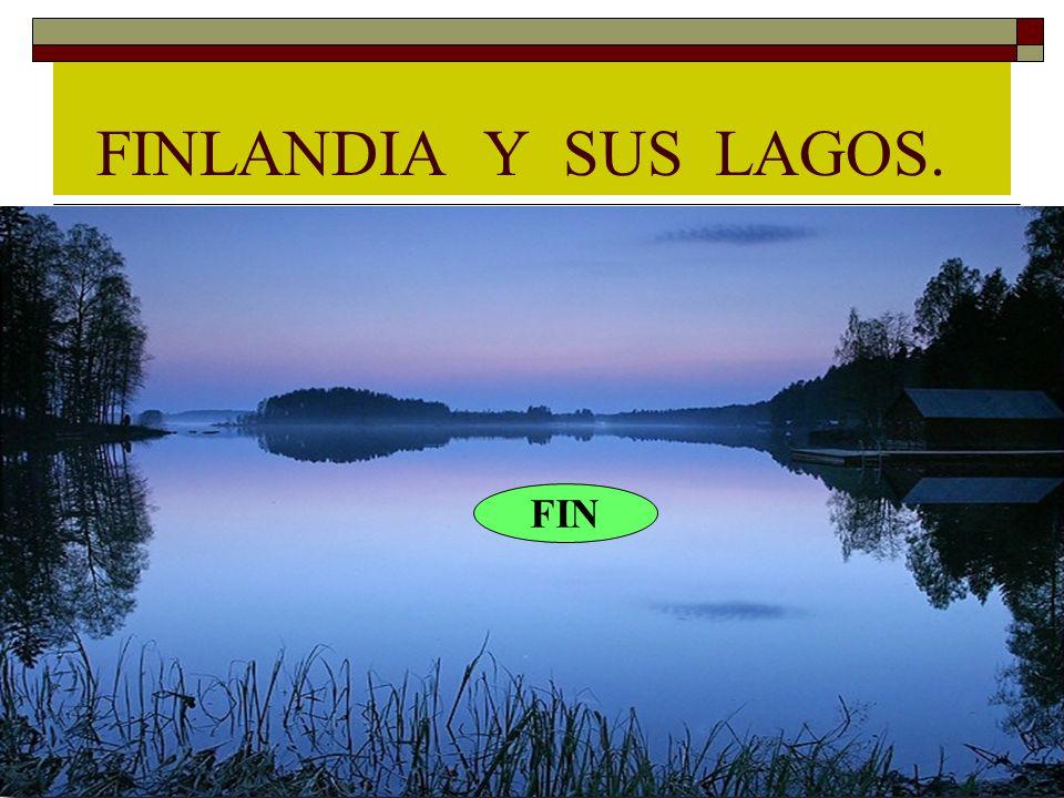 FINLANDIA Y SUS LAGOS. FIN