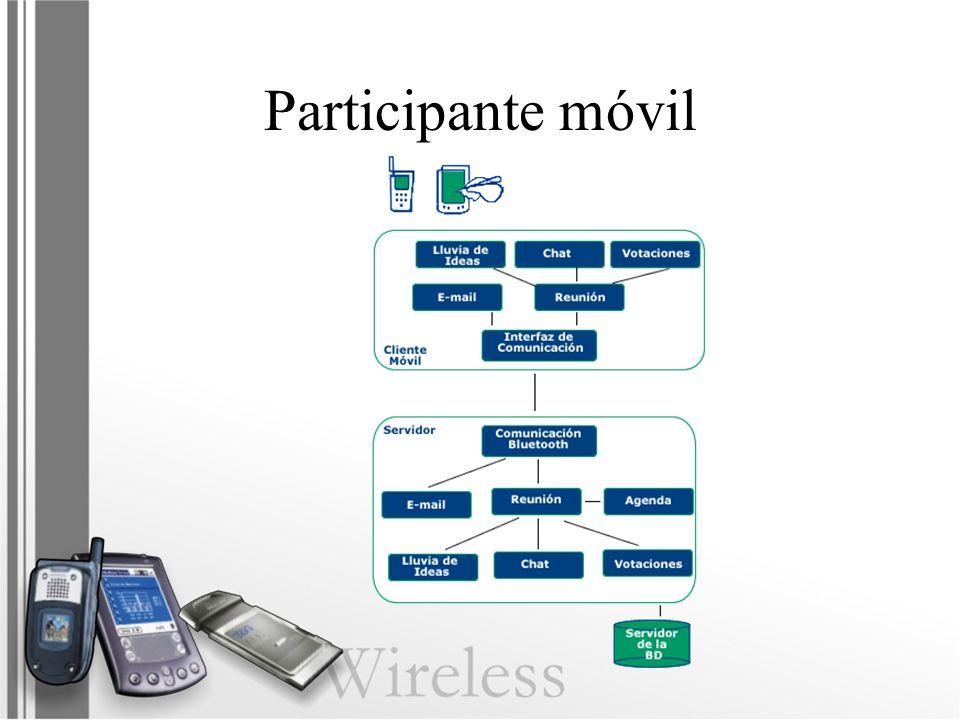 Participante móvil