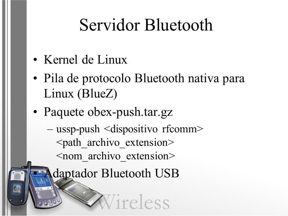 Servidor Bluetooth Kernel de Linux
