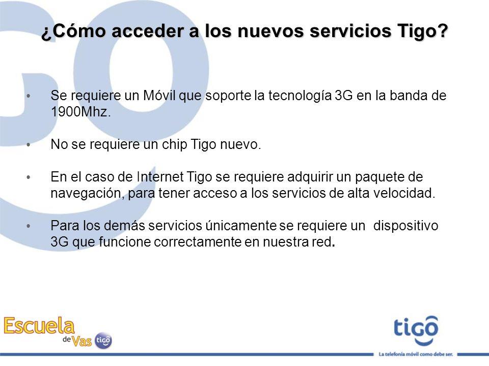 ¿Cómo acceder a los nuevos servicios Tigo