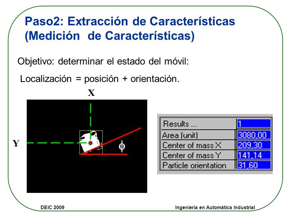  Paso2: Extracción de Características (Medición de Características)