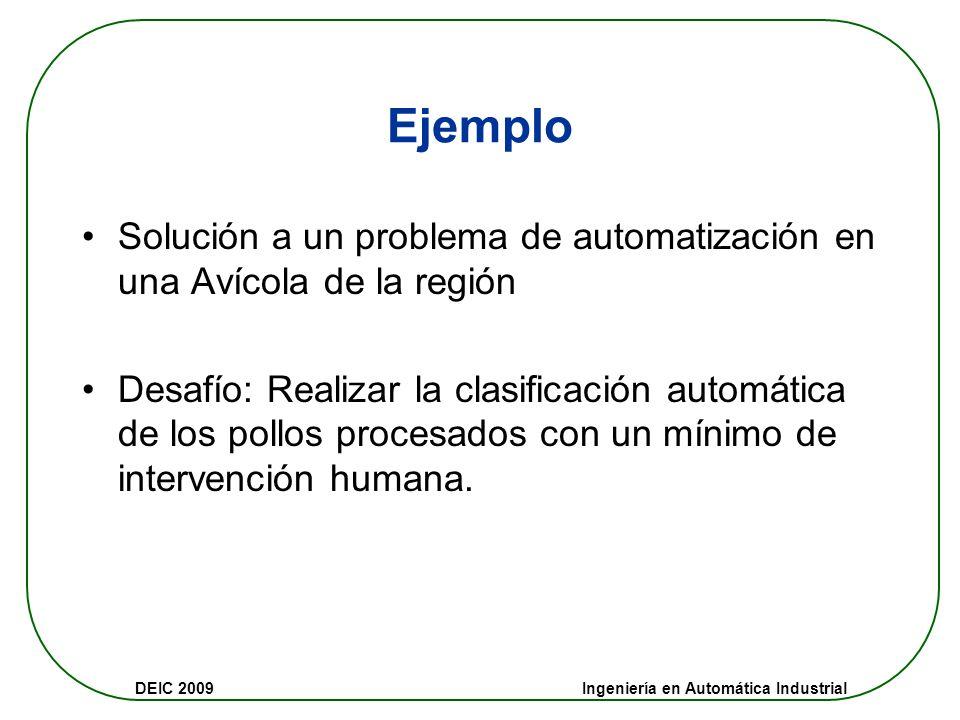 Ejemplo Solución a un problema de automatización en una Avícola de la región.