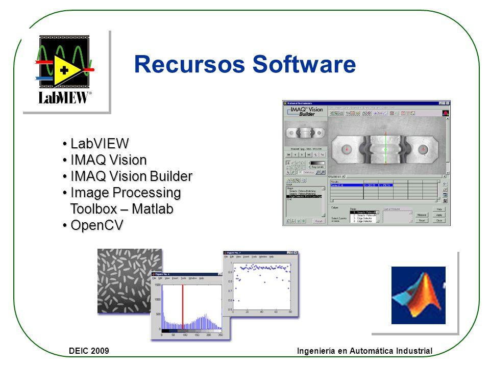 Recursos Software LabVIEW IMAQ Vision IMAQ Vision Builder