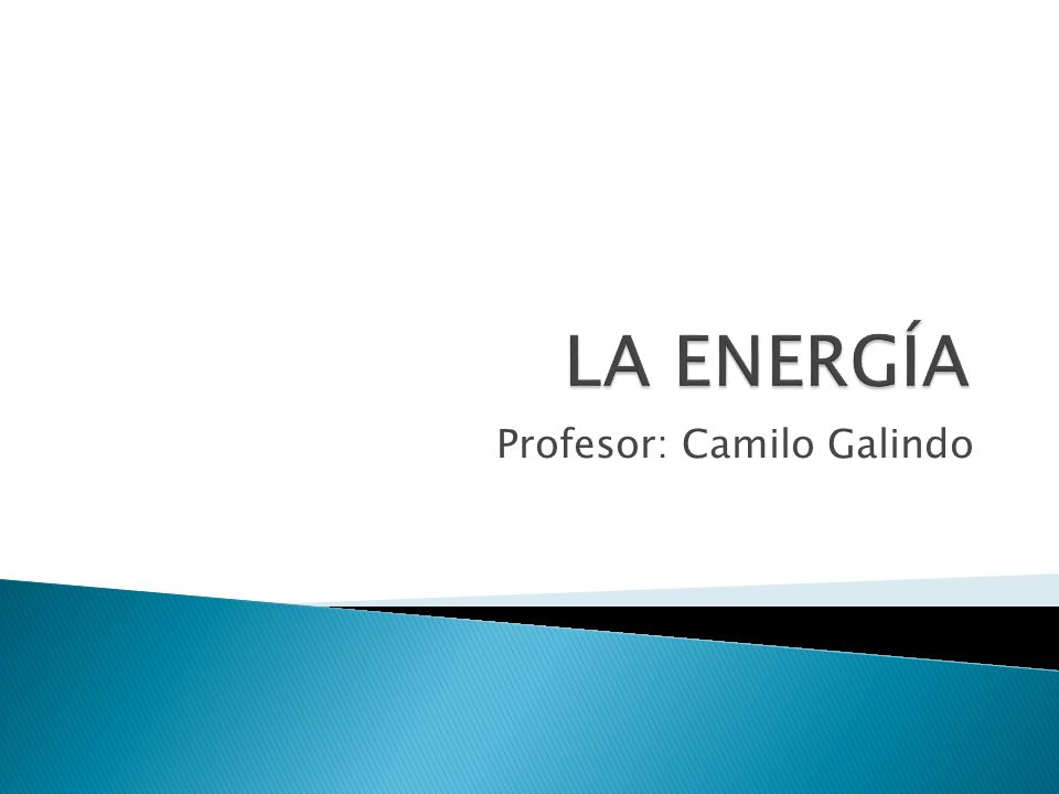 Profesor: Camilo Galindo