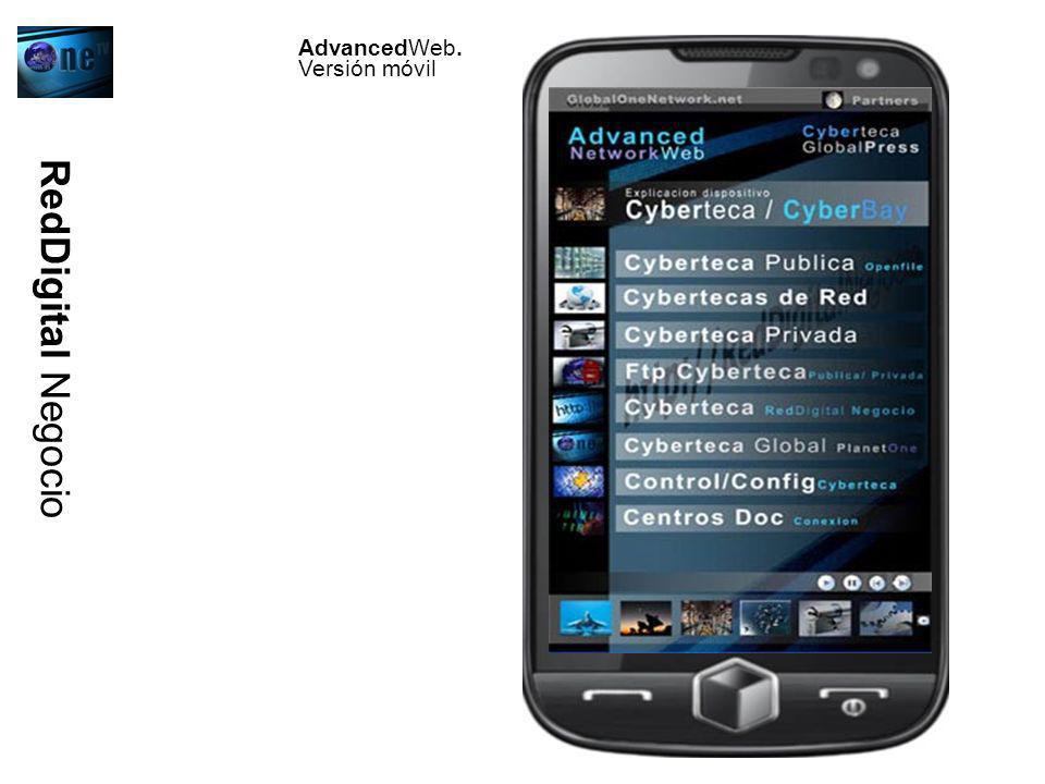 AdvancedWeb. Versión móvil RedDigital Negocio