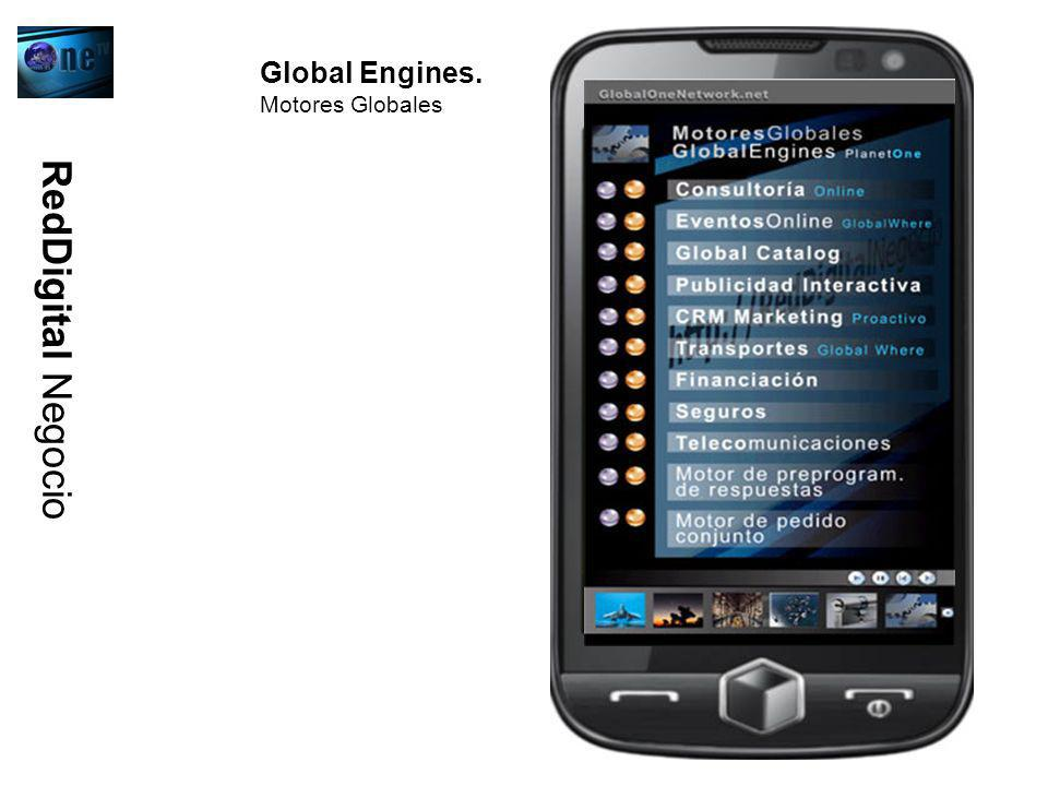 Global Engines. Motores Globales RedDigital Negocio