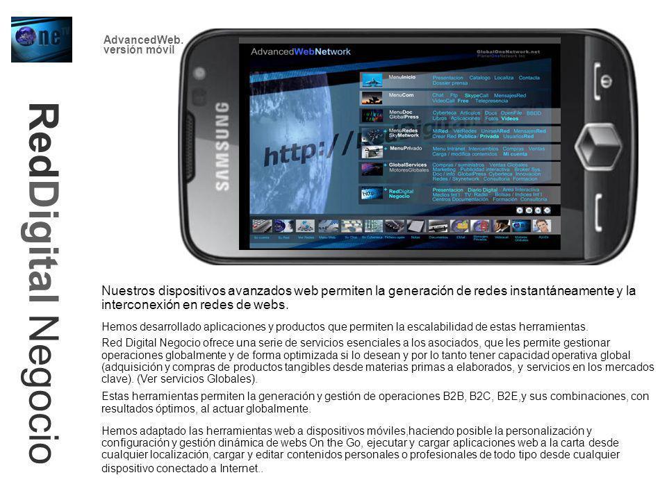 AdvancedWeb. versión móvil. RedDigital Negocio.