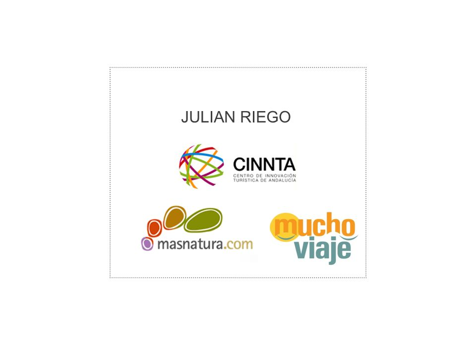Enter Title of Presentation Here JULIAN RIEGO
