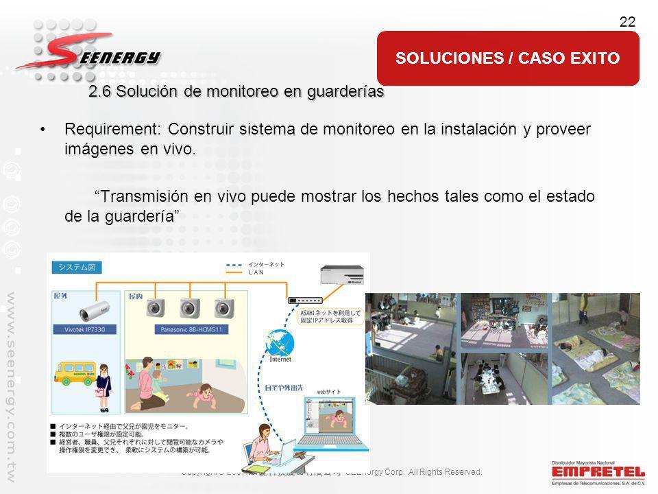 2.6 Solución de monitoreo en guarderías
