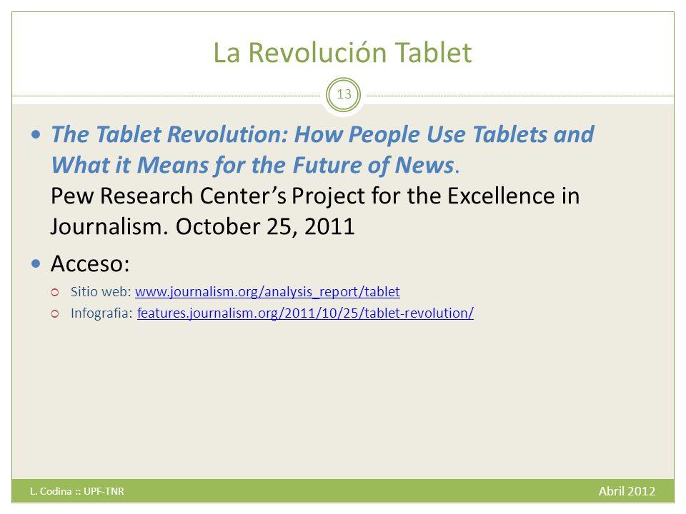 La Revolución Tablet