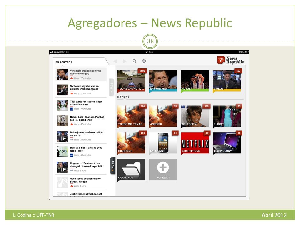 Agregadores – News Republic