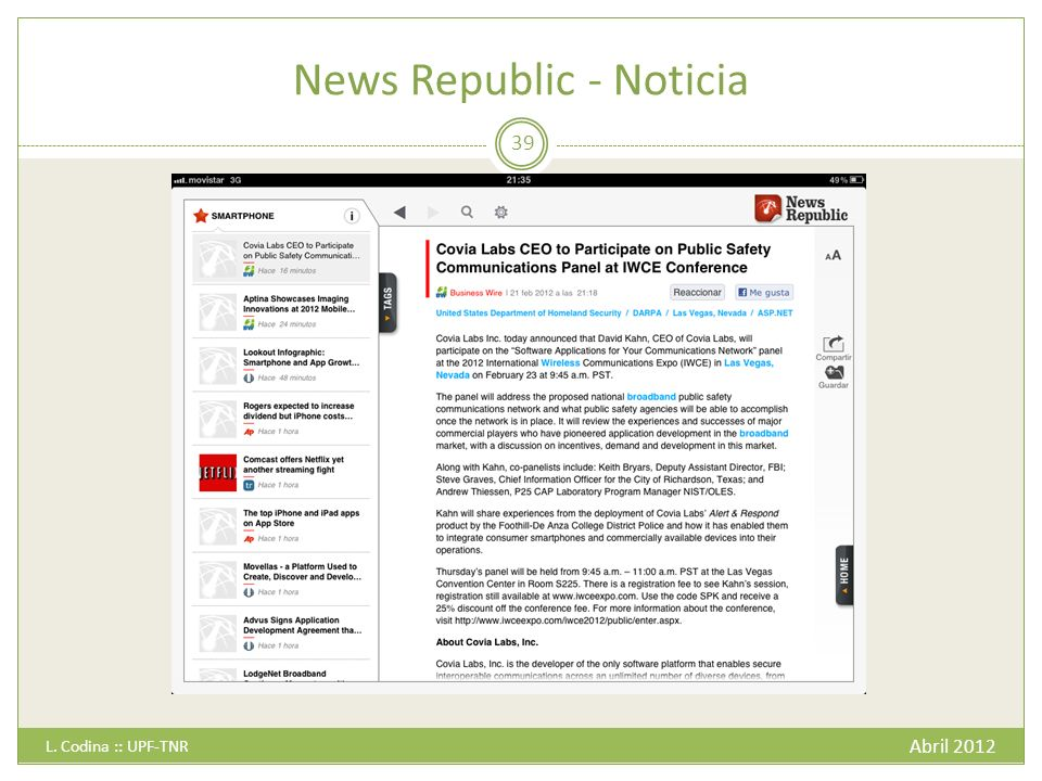 News Republic - Noticia