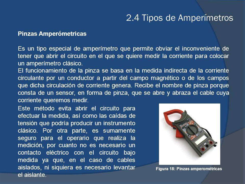 Figura 18: Pinzas amperométricas