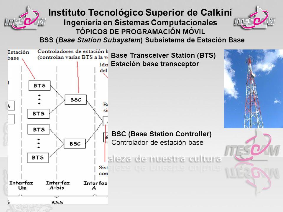 BSS (Base Station Subsystem) Subsistema de Estación Base