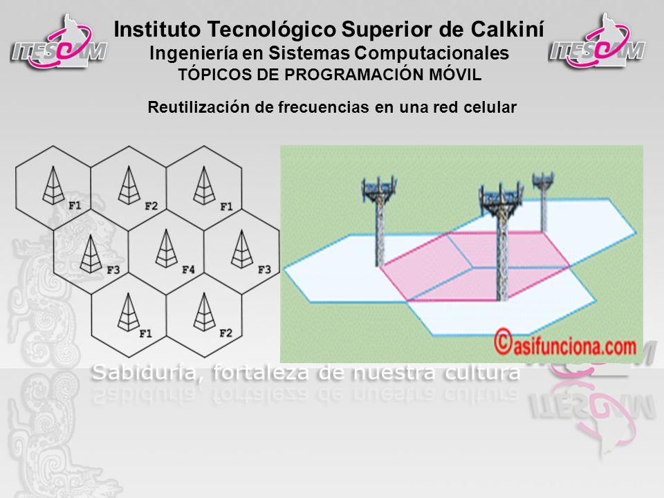 Reutilización de frecuencias en una red celular