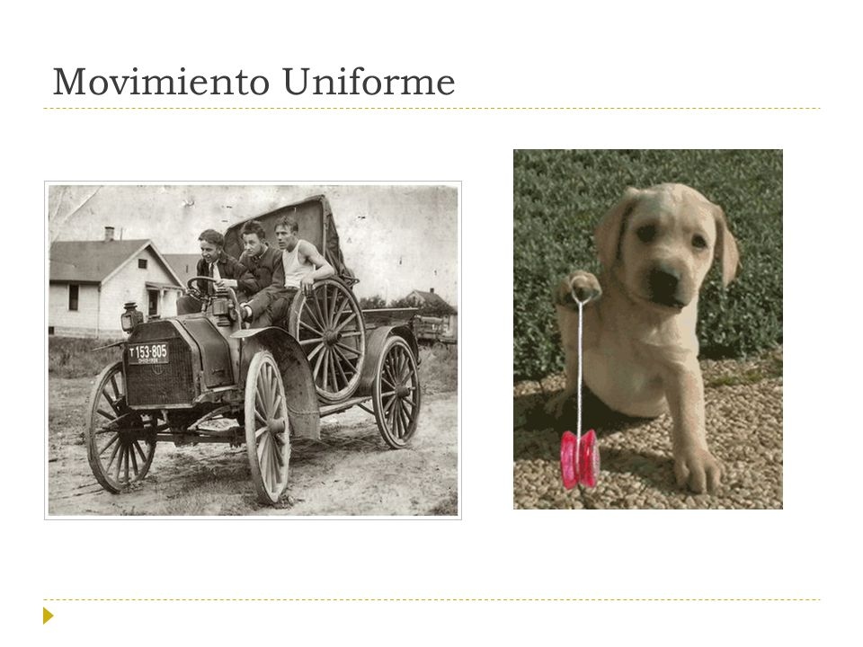 Movimiento Uniforme