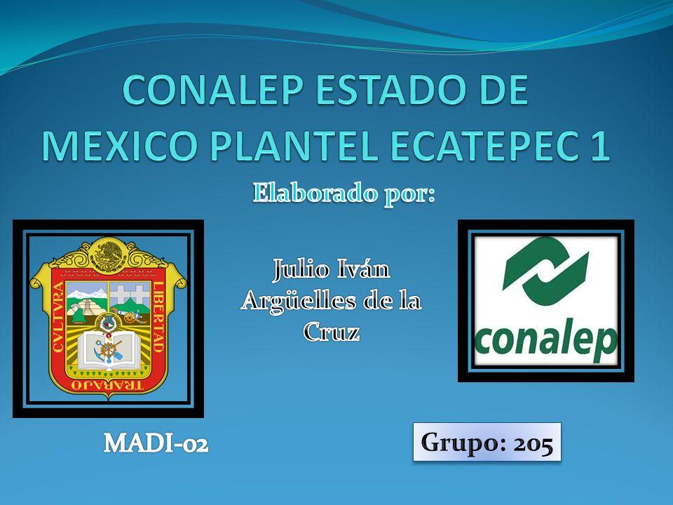 CONALEP ESTADO DE MEXICO PLANTEL ECATEPEC 1