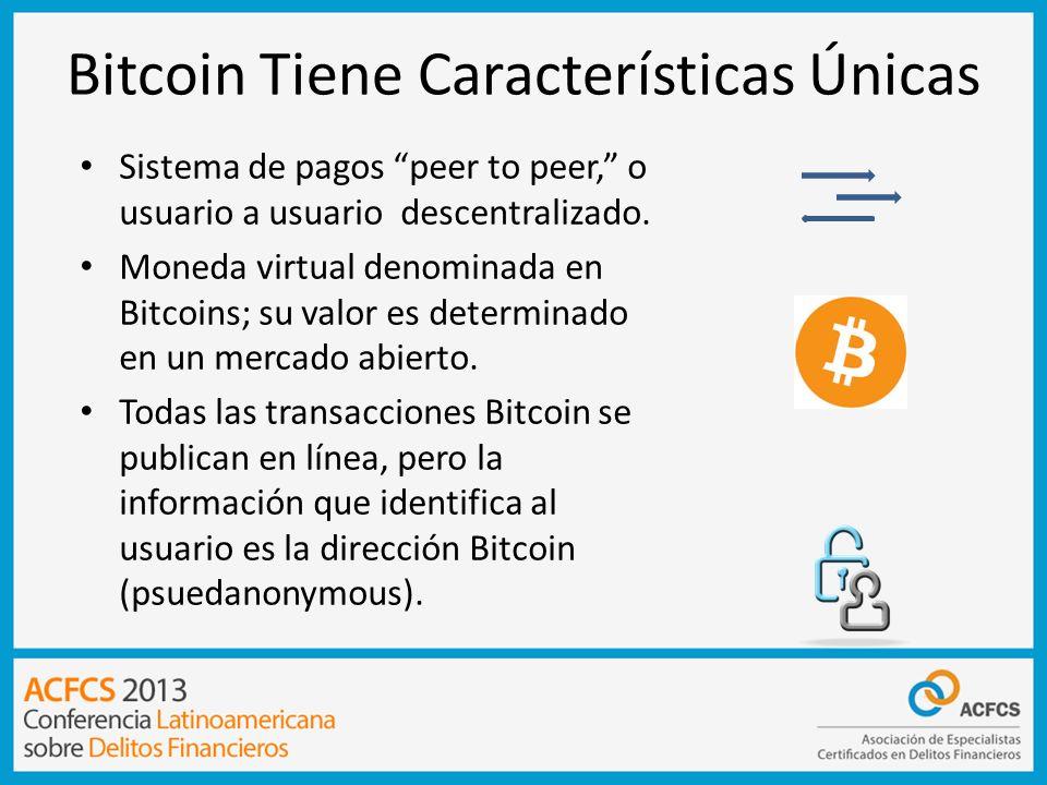 Bitcoin Tiene Características Únicas