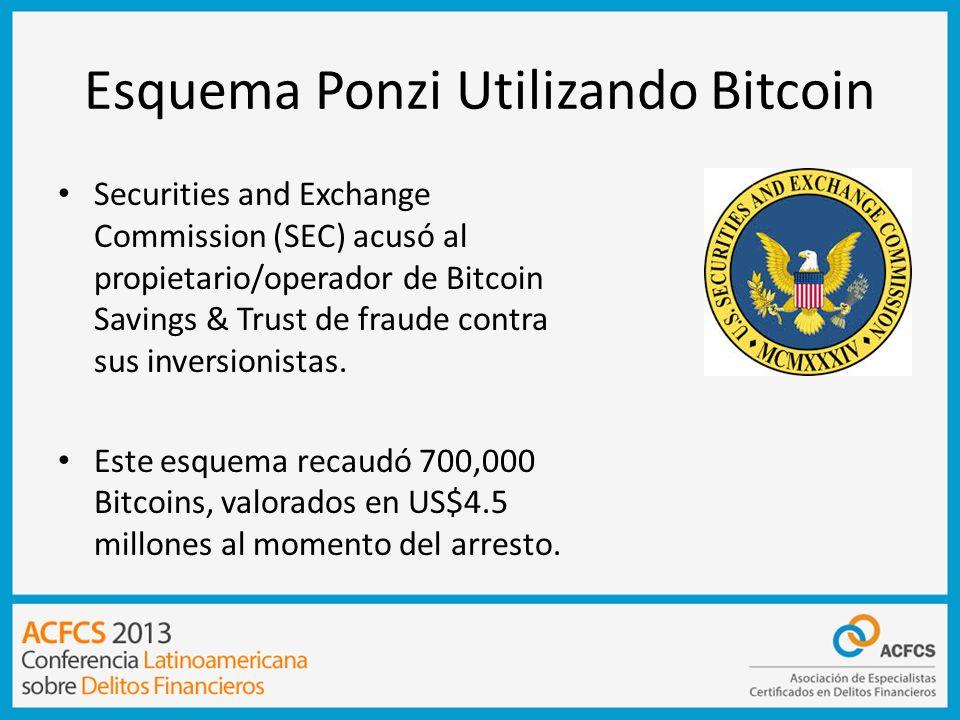 Esquema Ponzi Utilizando Bitcoin