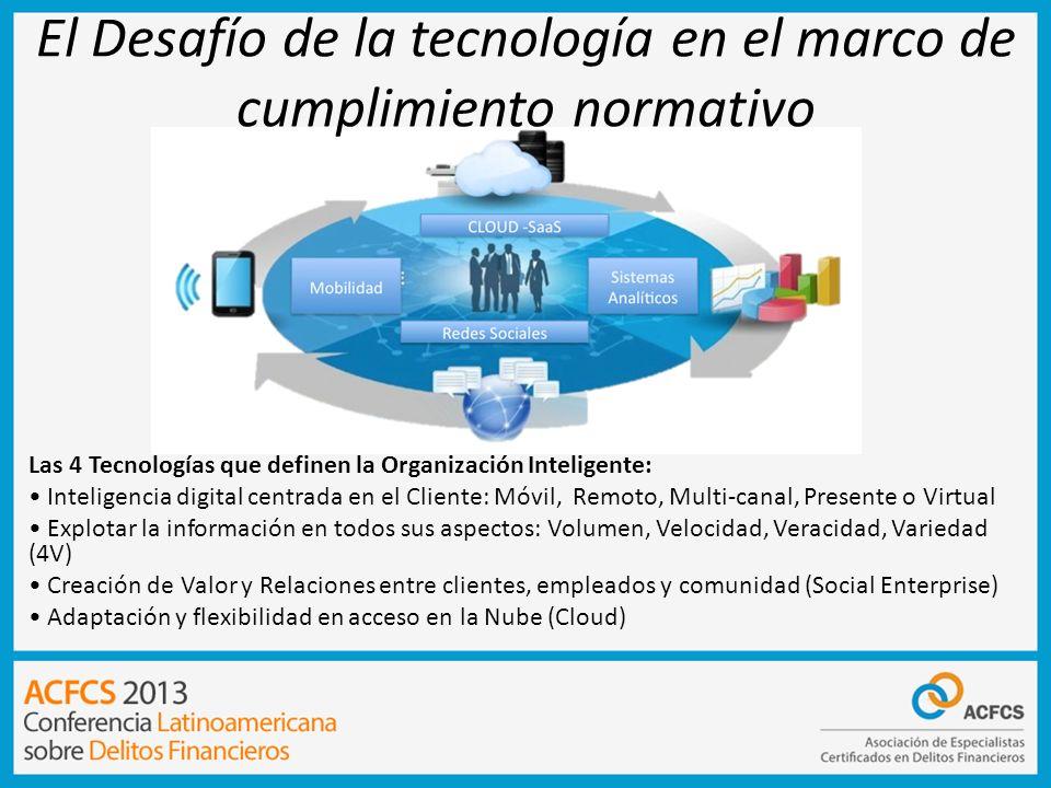 El Desafío de la tecnología en el marco de cumplimiento normativo