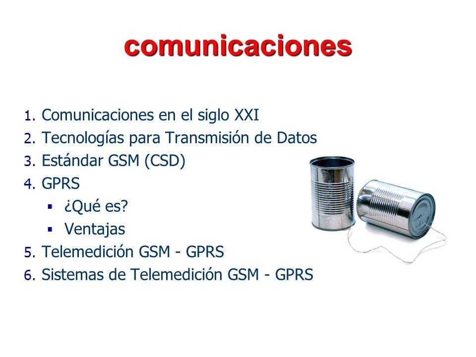 comunicaciones Comunicaciones en el siglo XXI