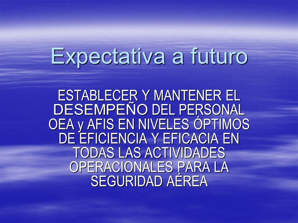Expectativa a futuro