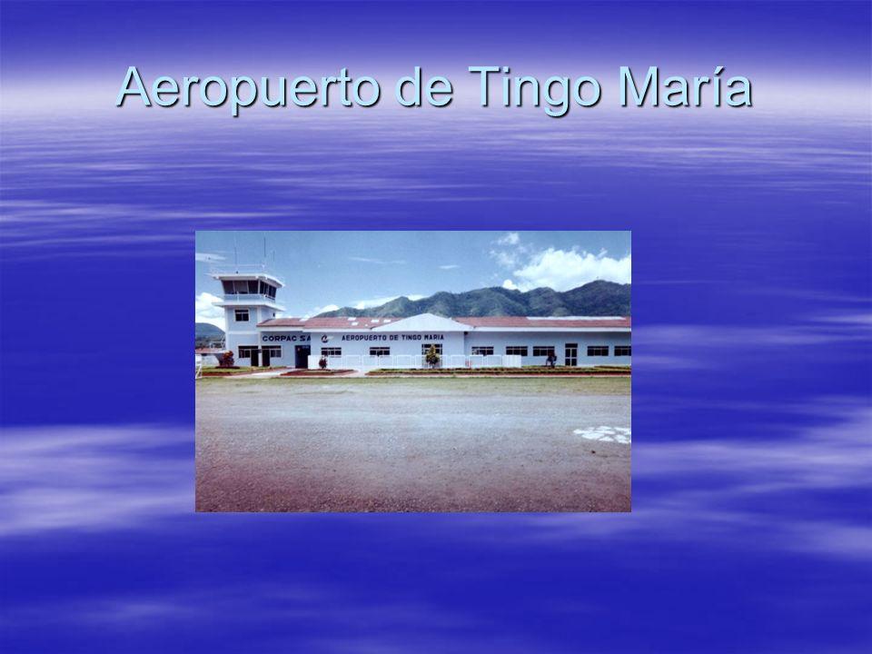 Aeropuerto de Tingo María