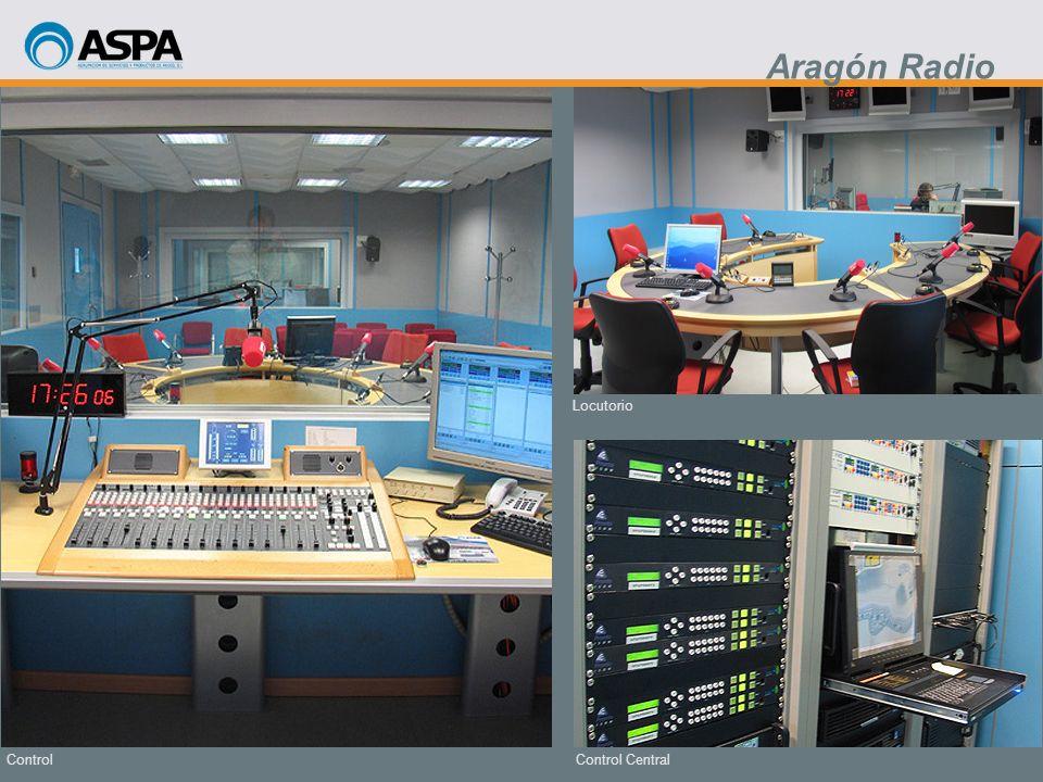 Aragón Radio Locutorio Control Control Central