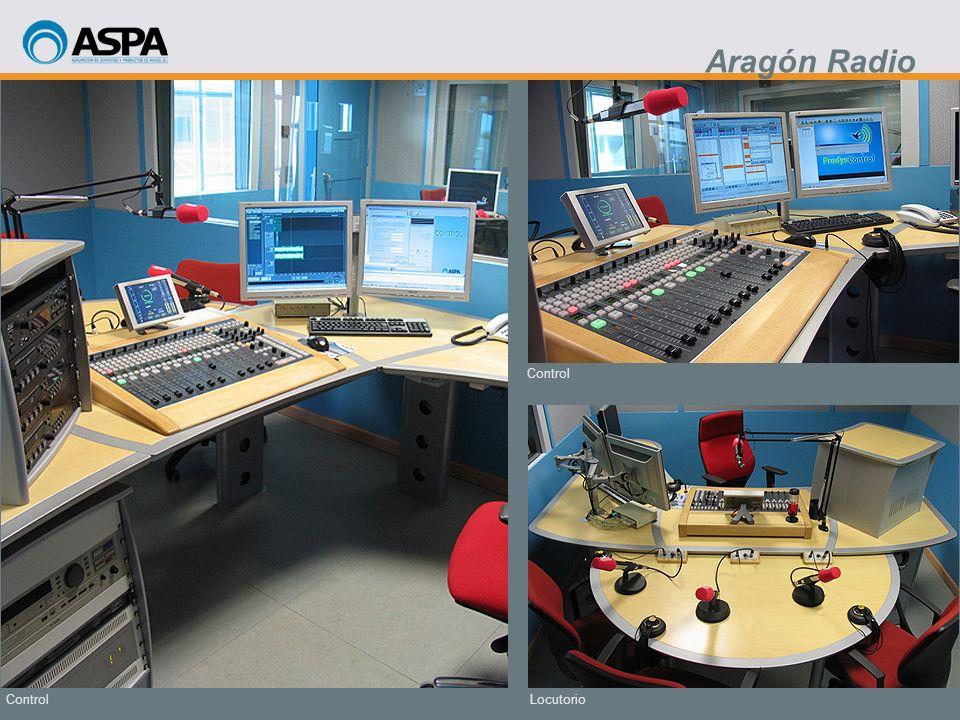 Aragón Radio Control Control Locutorio