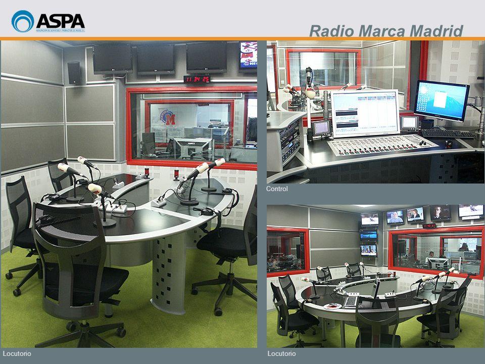 Radio Marca Madrid Control Locutorio Locutorio