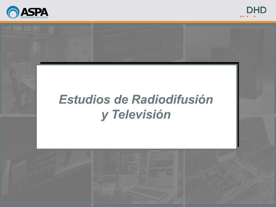Estudios de Radiodifusión y Televisión
