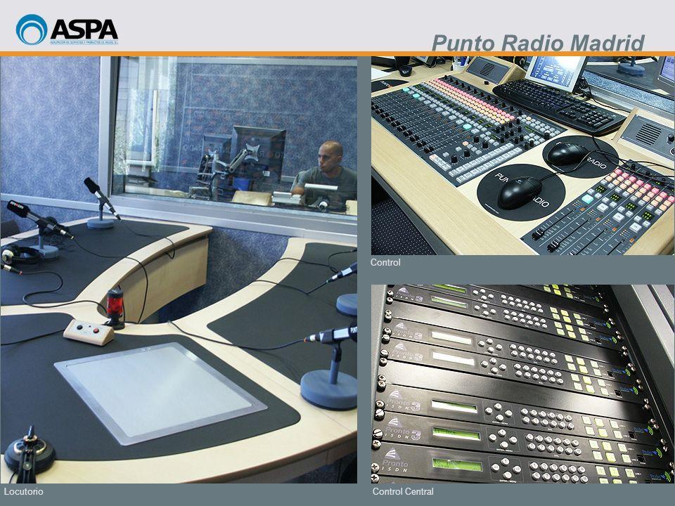 Punto Radio Madrid Control Locutorio Control Central