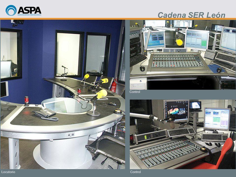 Cadena SER León Control Locutorio Control