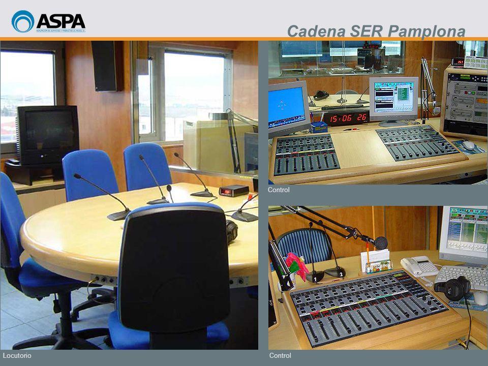 Cadena SER Pamplona Control Locutorio Control