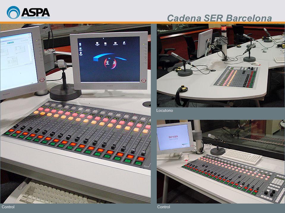 Cadena SER Barcelona Locutorio Control Control