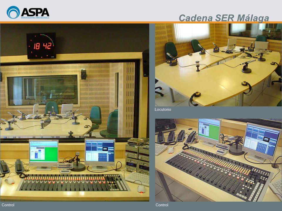 Cadena SER Málaga Locutorio Control Control