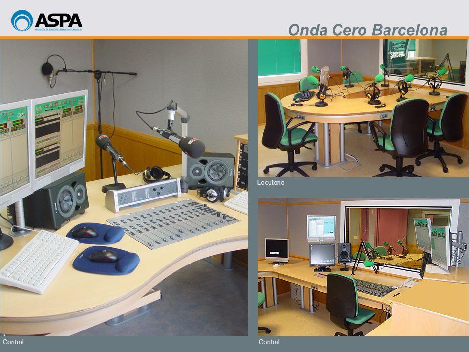 Onda Cero Barcelona Locutorio Control Control