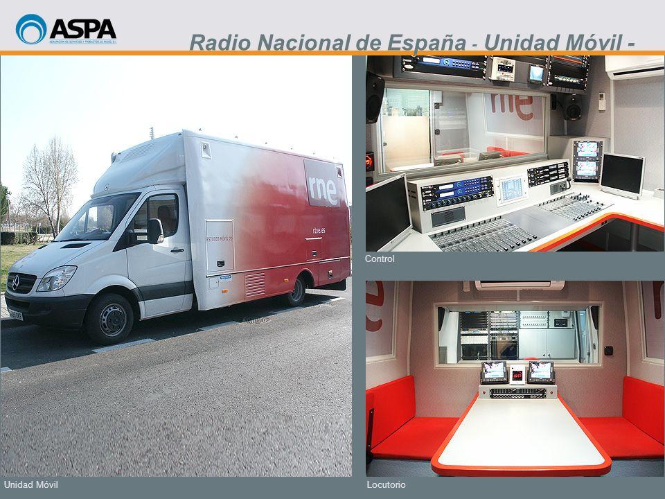 Radio Nacional de España - Unidad Móvil -
