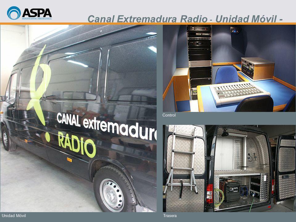 Canal Extremadura Radio - Unidad Móvil -