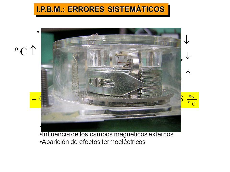 I.P.B.M.: ERRORES SISTEMÁTICOS