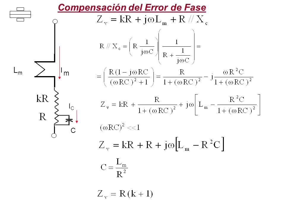 Compensación del Error de Fase