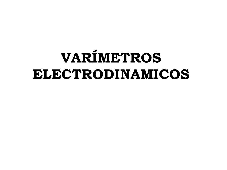 VARÍMETROS ELECTRODINAMICOS