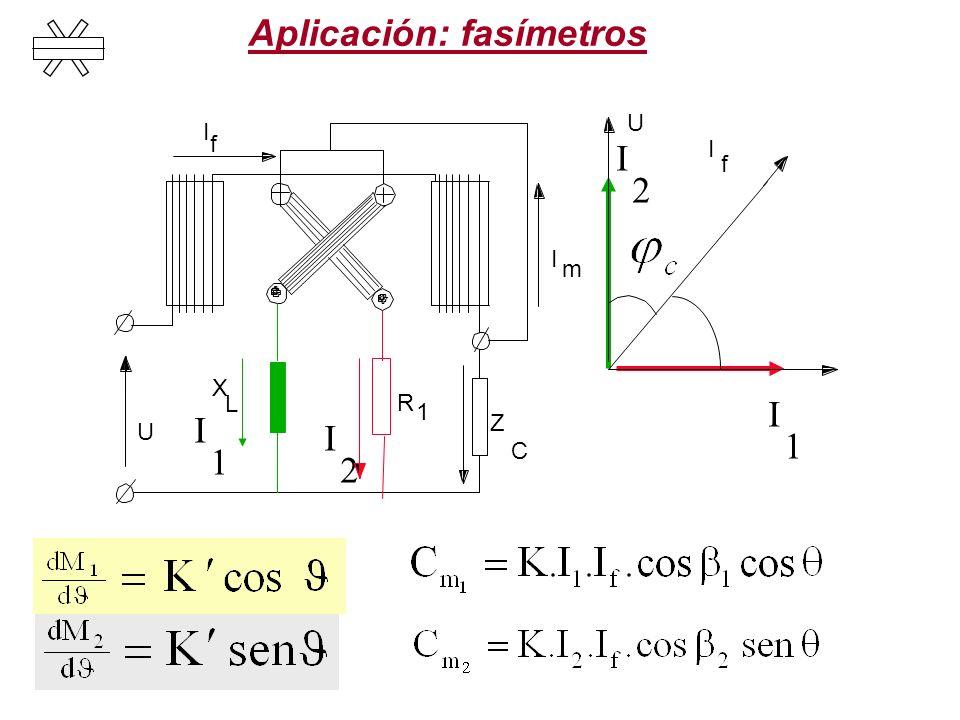 Aplicación: fasímetros