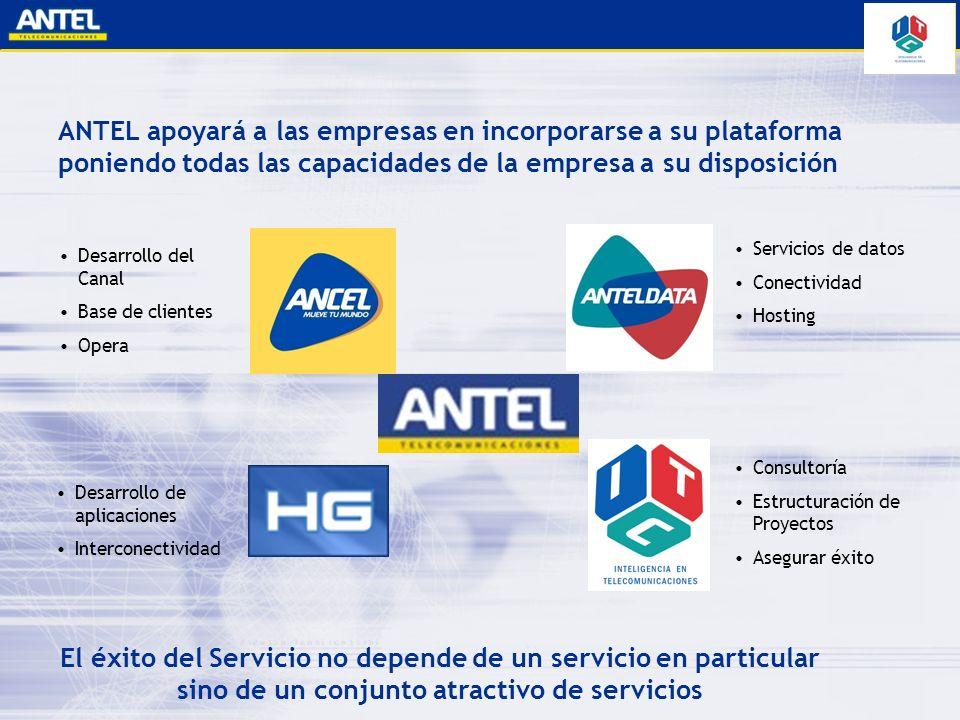 ANTEL apoyará a las empresas en incorporarse a su plataforma poniendo todas las capacidades de la empresa a su disposición