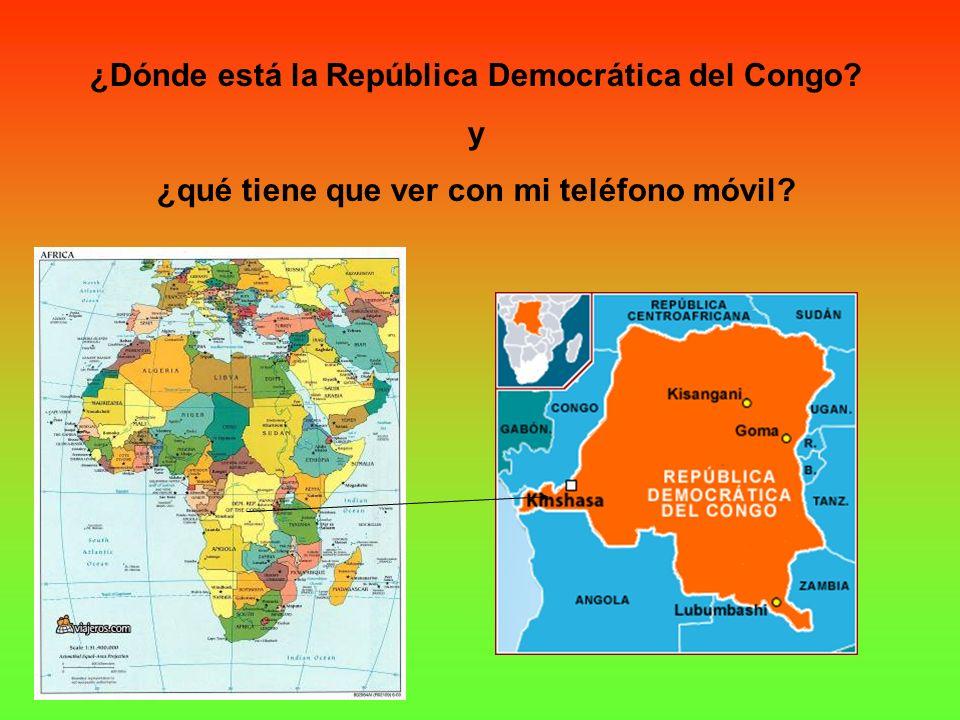 ¿Dónde está la República Democrática del Congo y