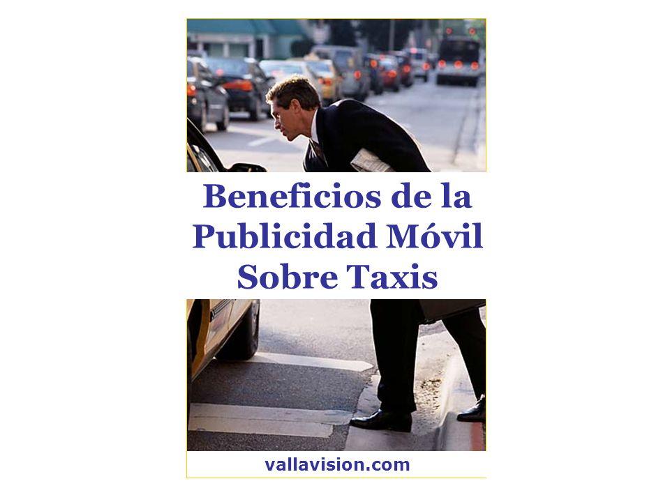 Beneficios de la Publicidad Móvil Sobre Taxis